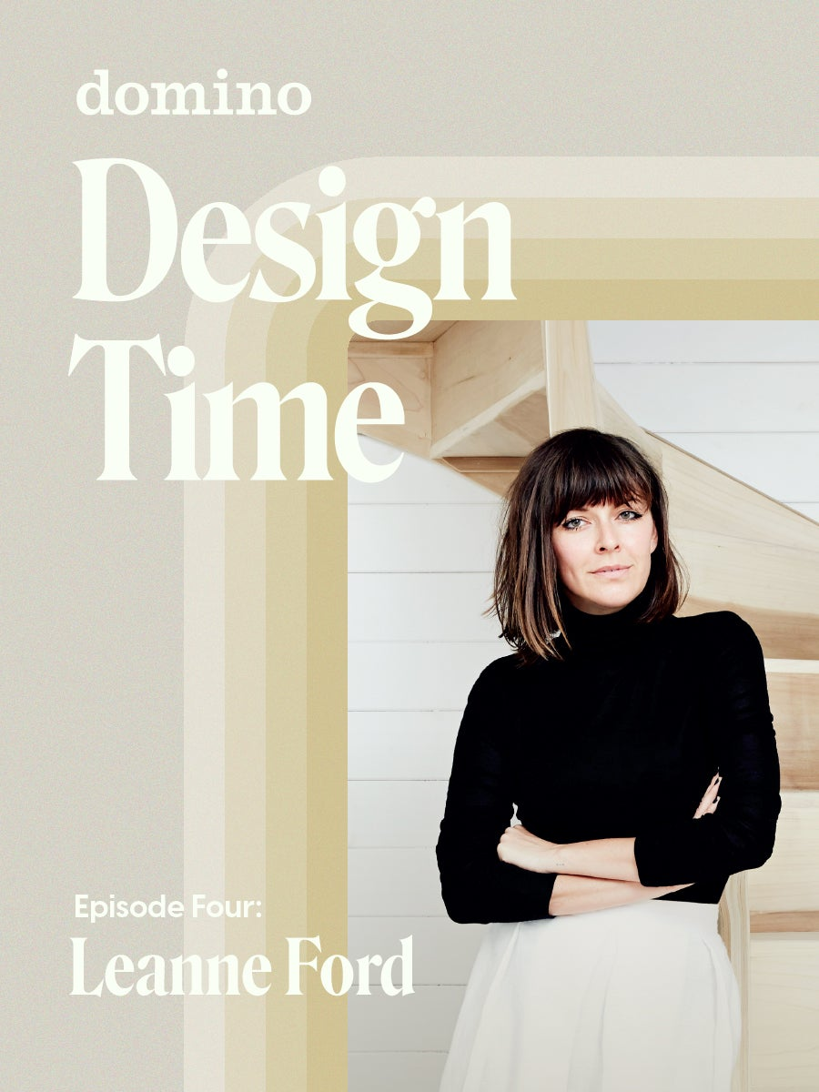 woman on design time background