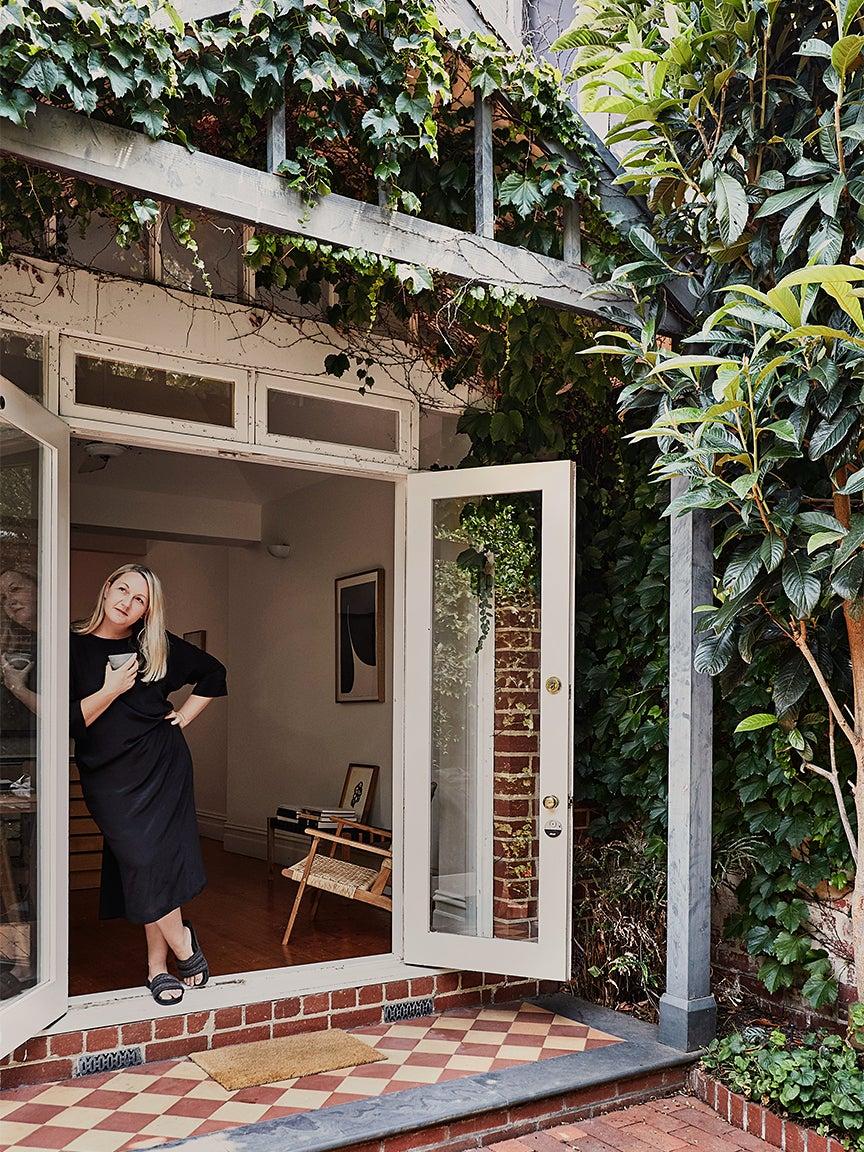 Caroline in her home
