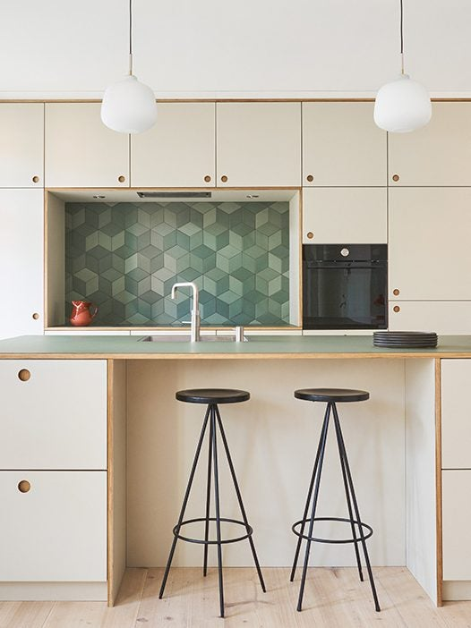 pale wood kitchen