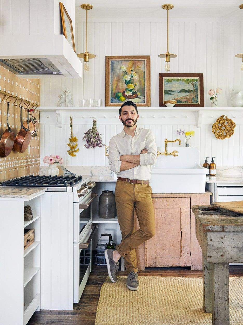 Anthony d'argenzio in kitchen