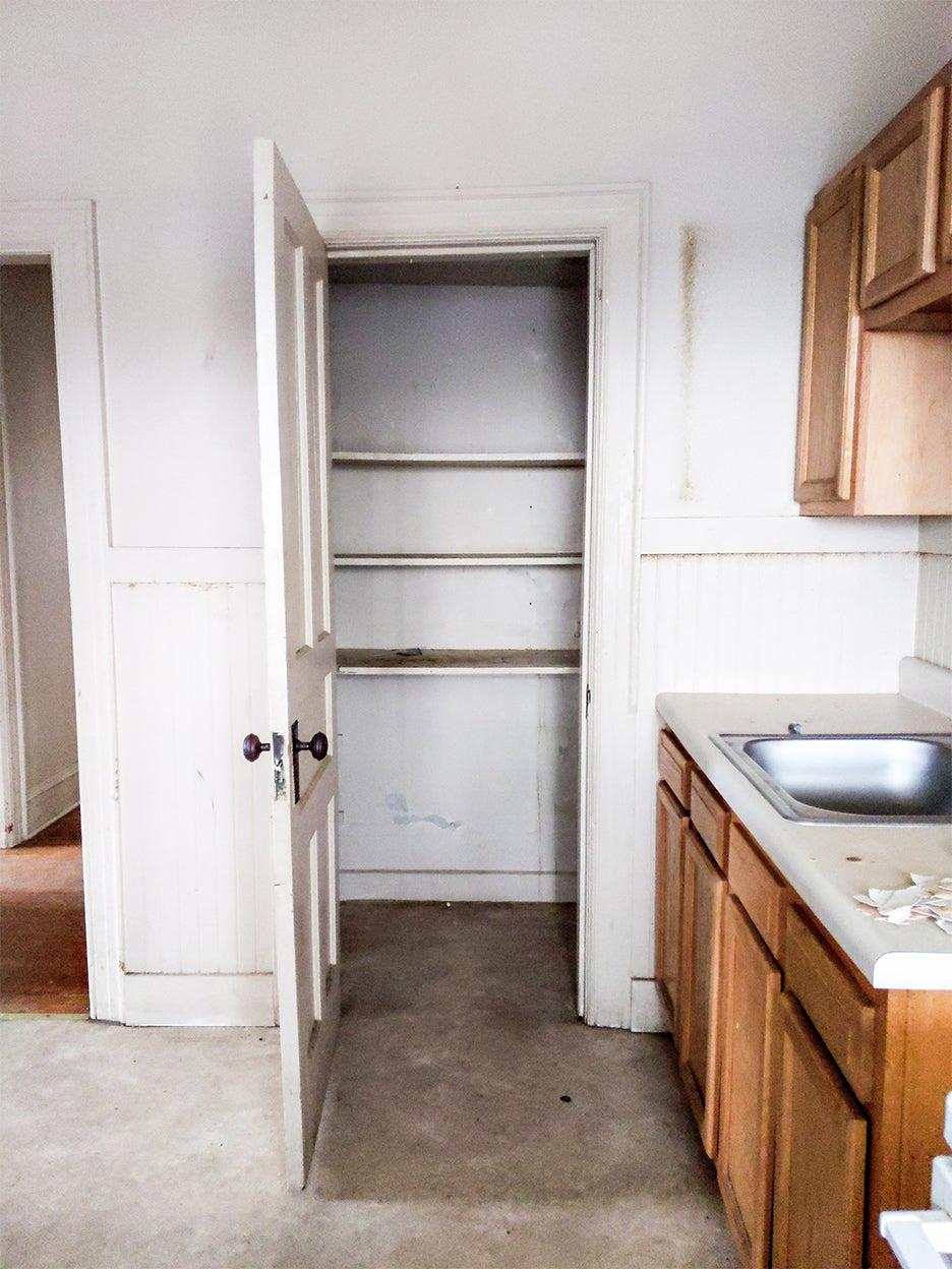 old kitchen pantry door