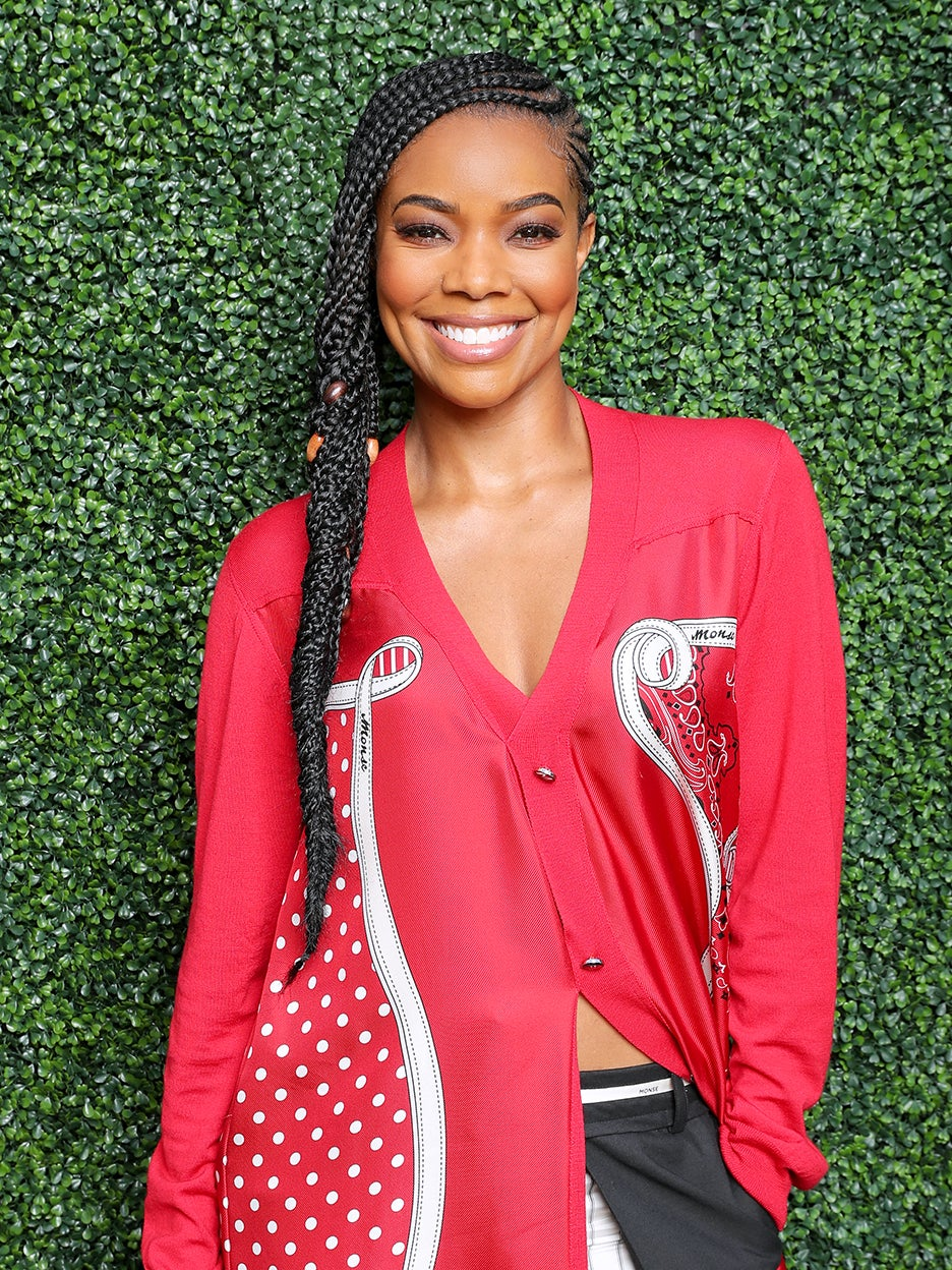 Gabrielle Union's Cloudlike Sofa Is Made With This Material of the Moment