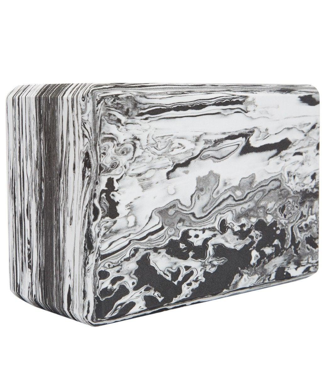 h Marbled Foam Yoga Block