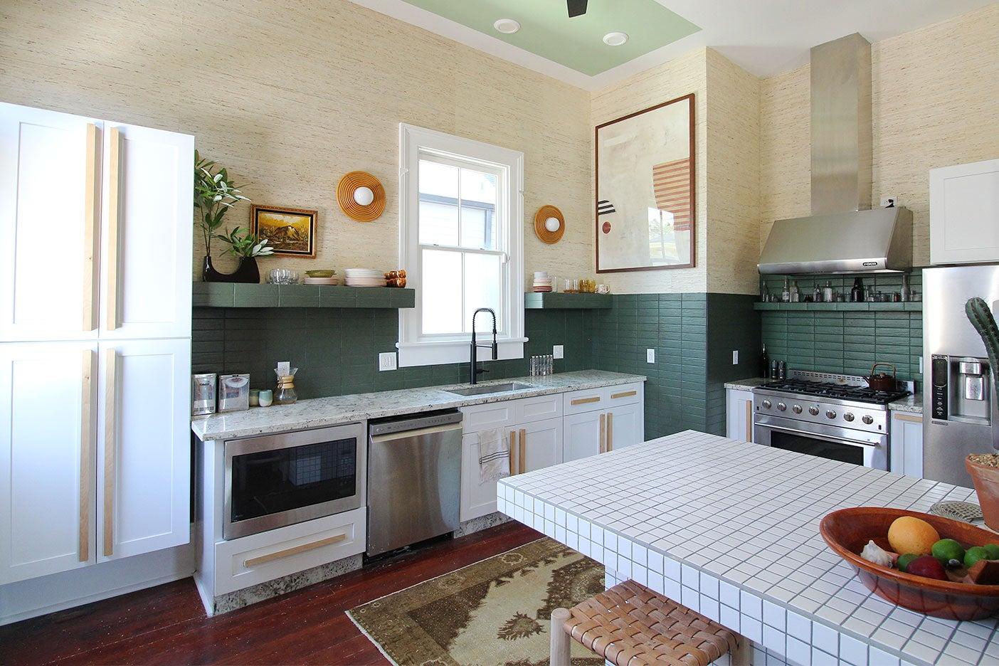 Liz Karamul's New Orleans kitchen