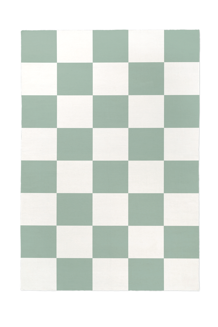 Mandy Moore's High-Impact (and Renter-Friendly!) Take on Checkerboard Floors