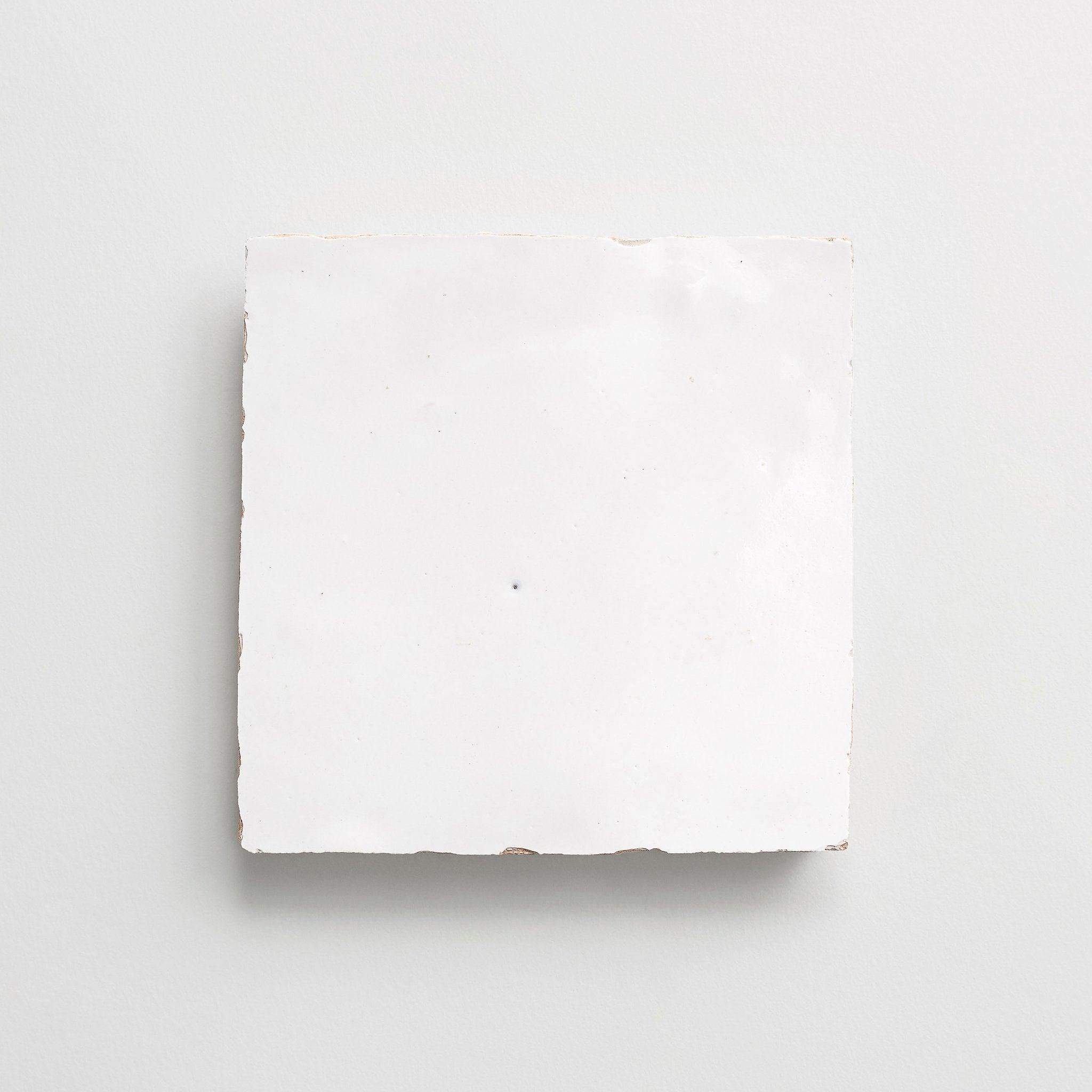 White Zellige Tile