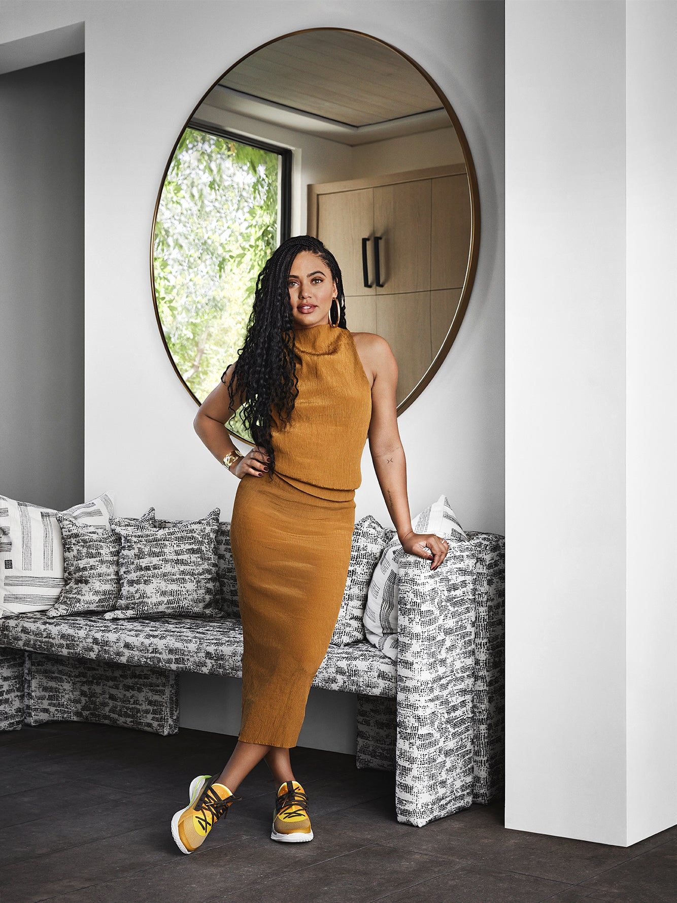 Ayesha Curry Decorated Her Family's Entire Bay Area Oasis Herself