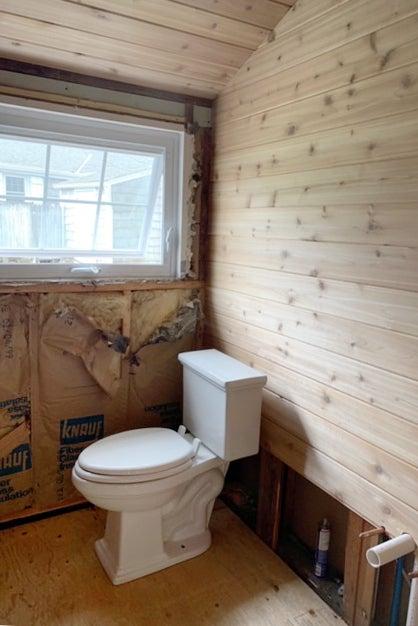 bathrom under construction