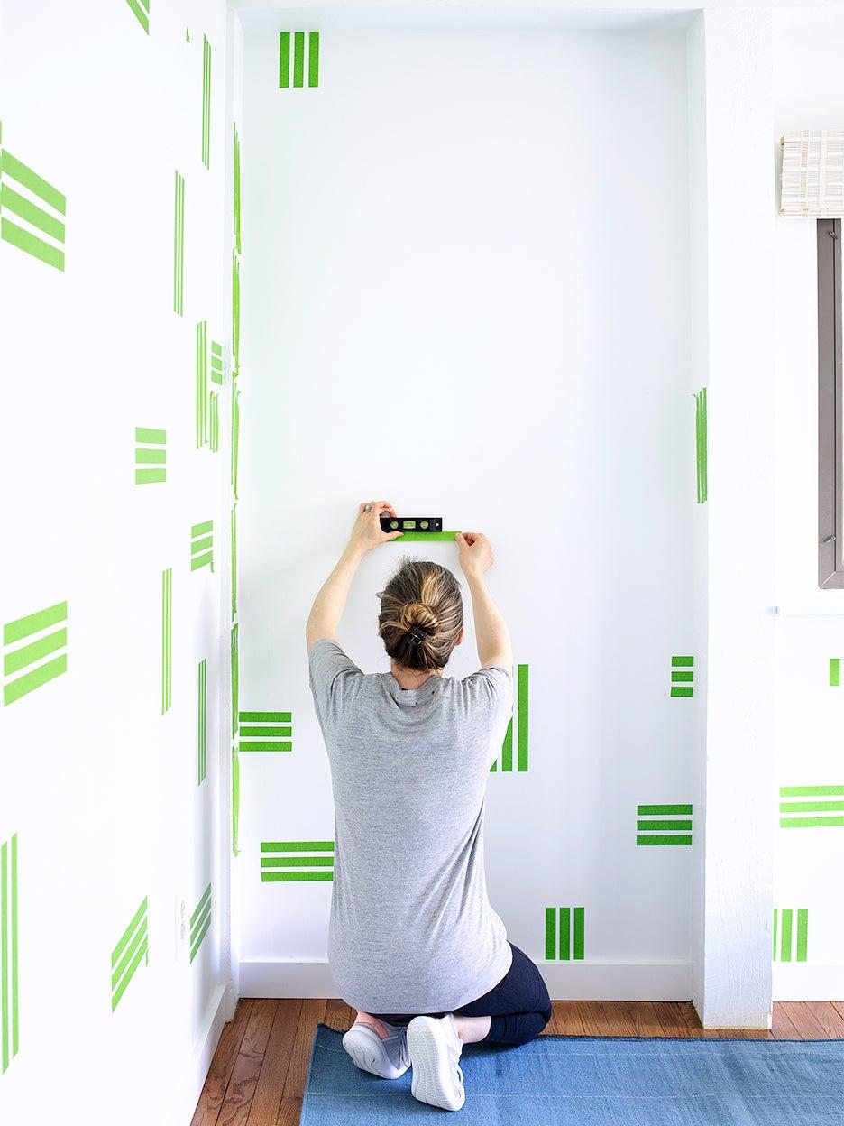 Paint tape DIY