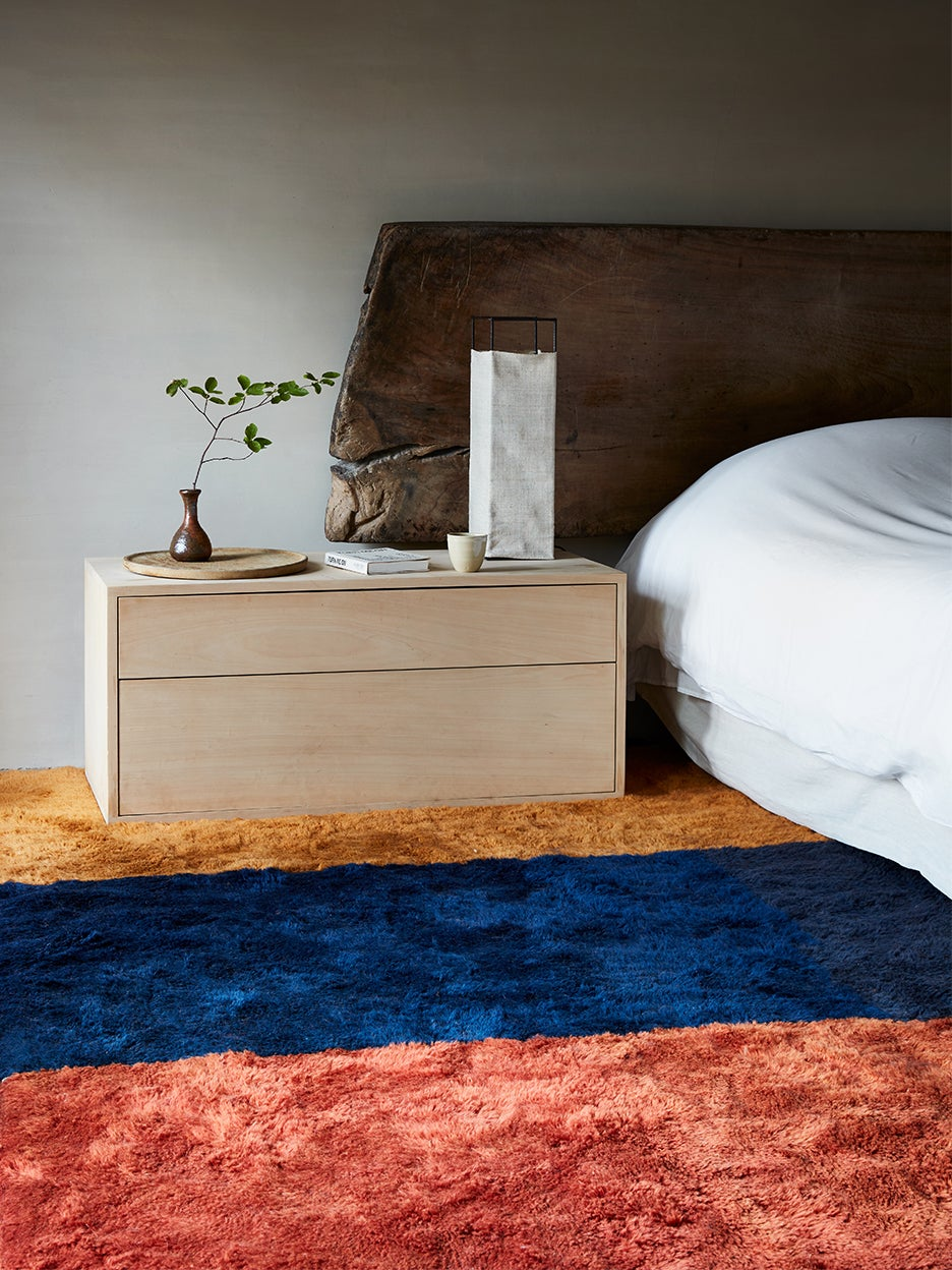 Rugs in a bedroom