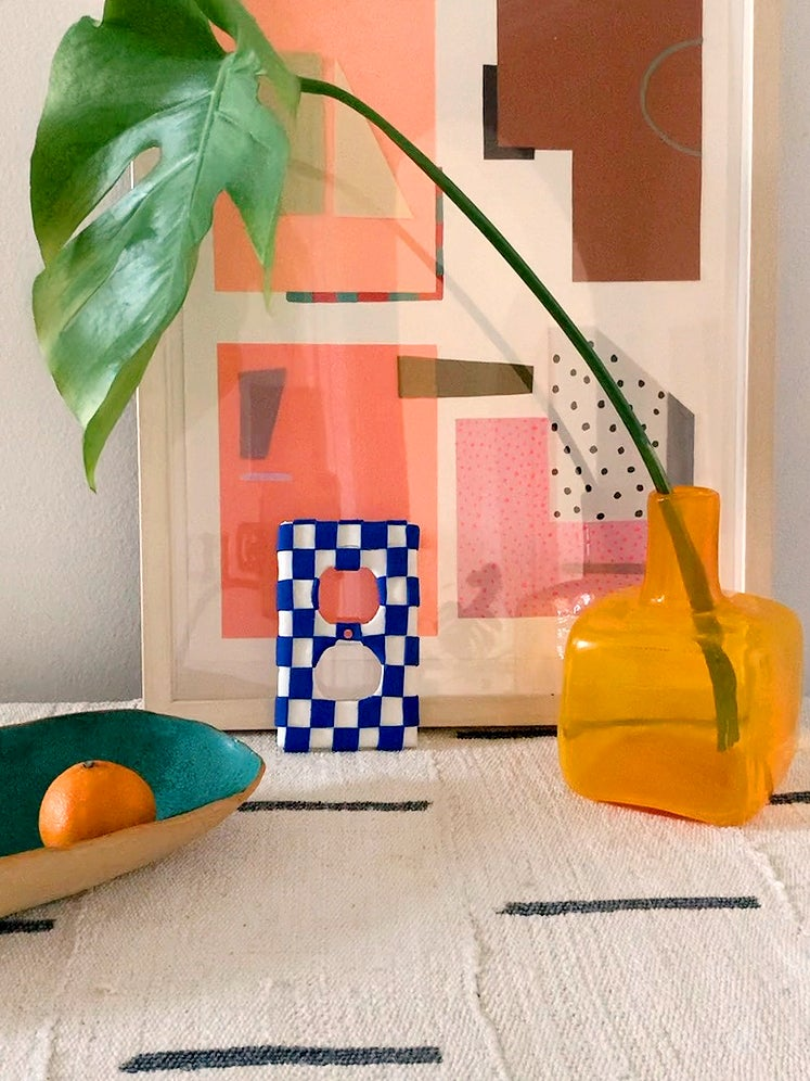 still life of fruit bowl and art