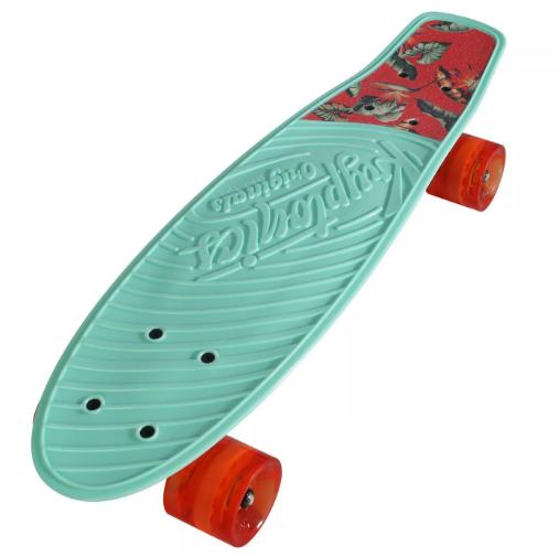 green skatboard