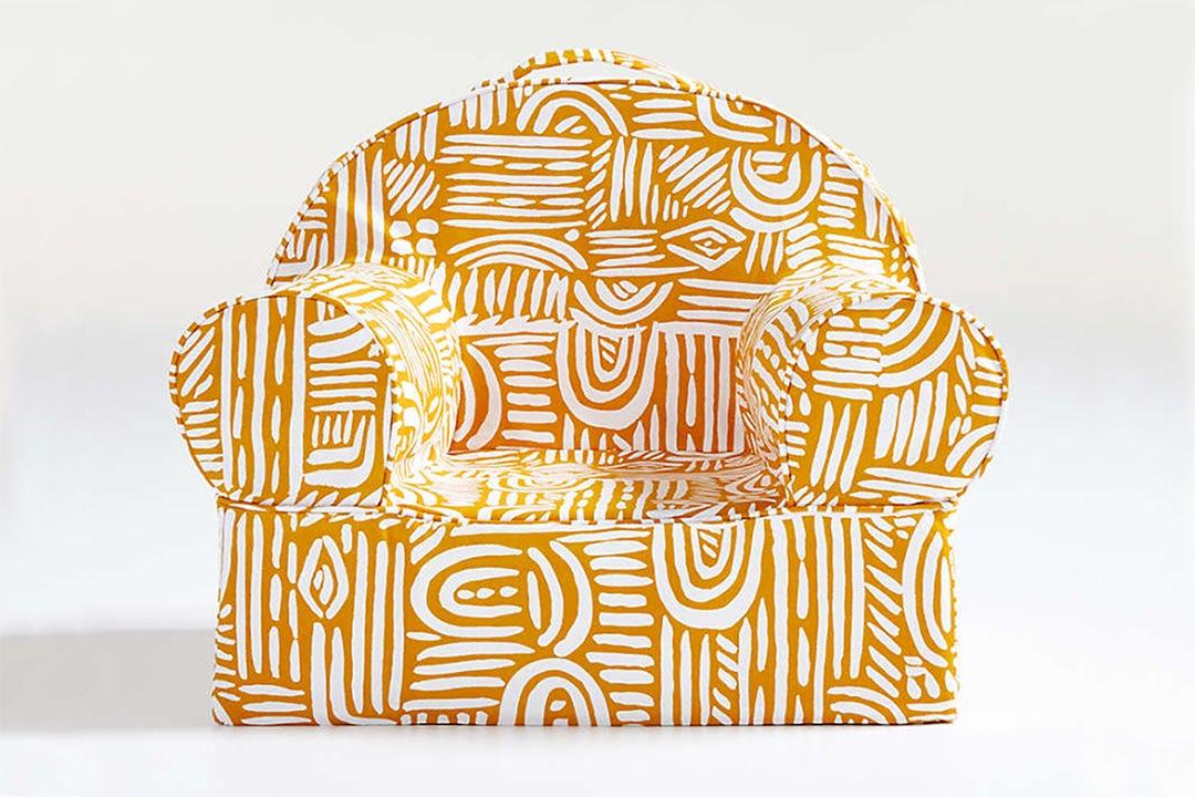 Pattern kids chair