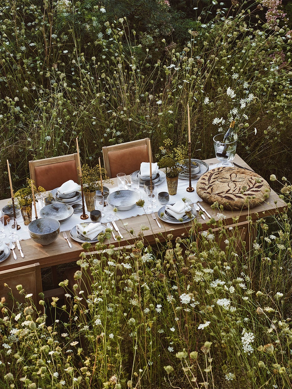 table in a field