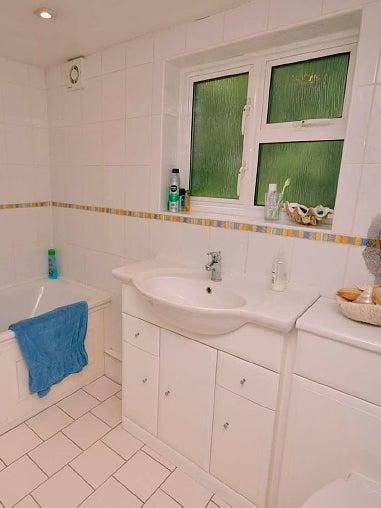 ugly white bathroom