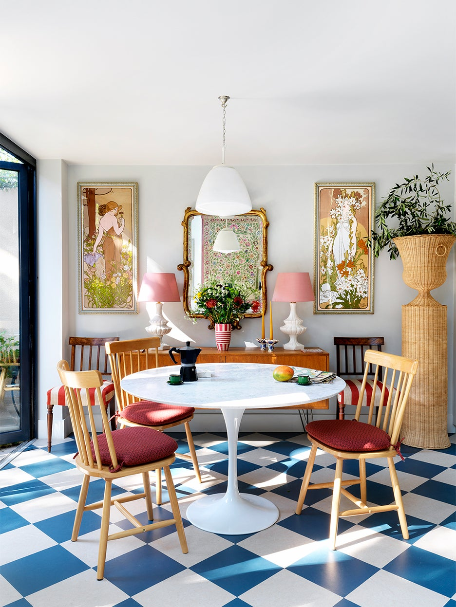 dining room with chairs