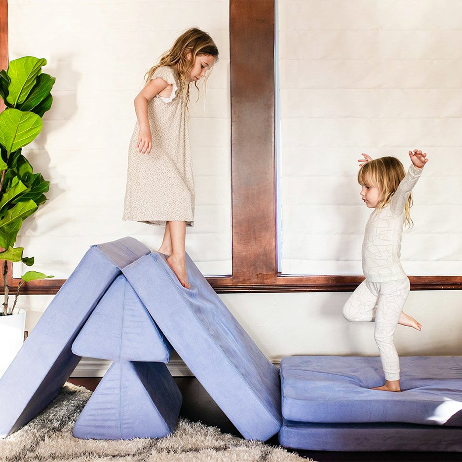 A Next-Gen Floor Cushion Is the Seating Essential Your Family Room Is Missing