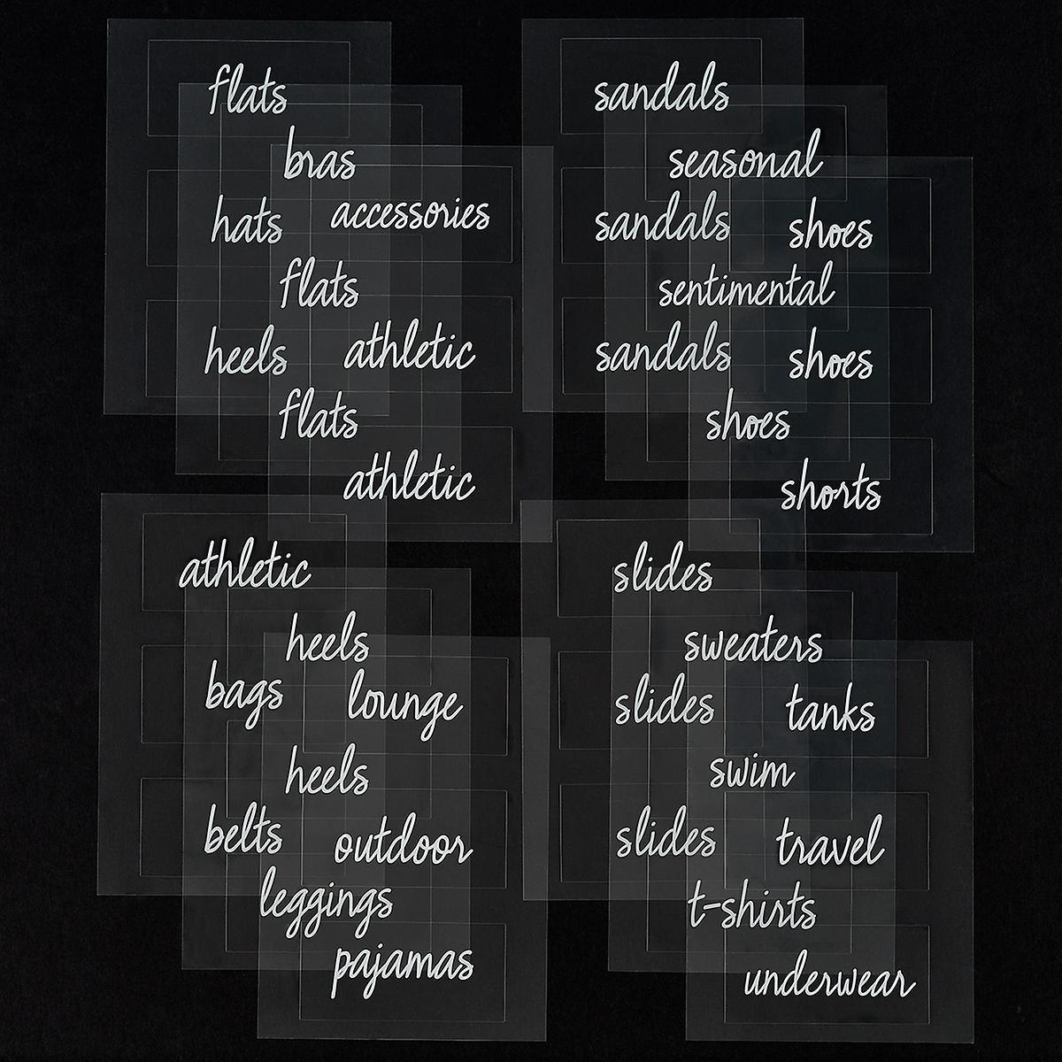 10077101-T.H.E.-closet-labels-clear