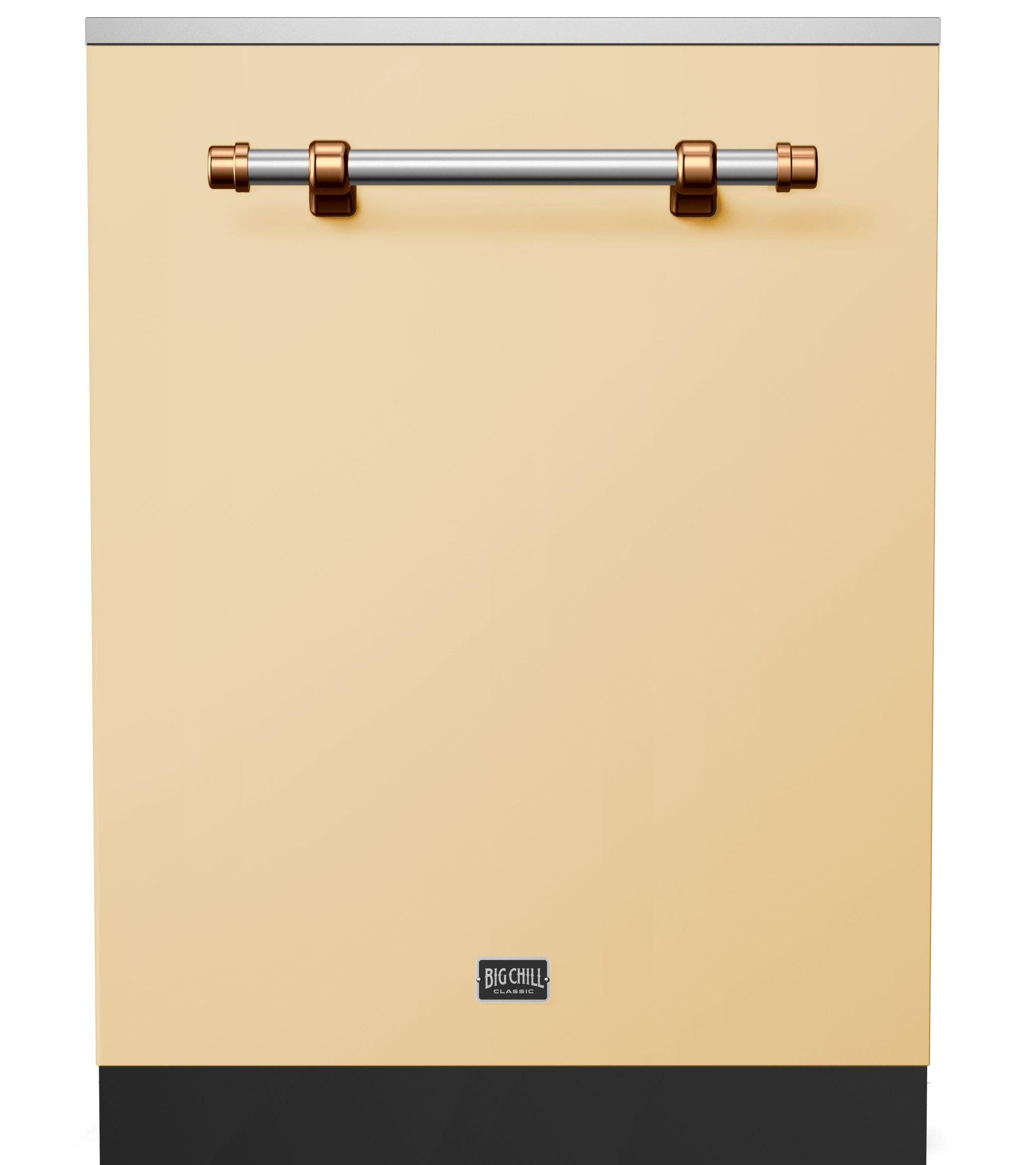 Big Chill_Classic Dishwasher_Ivory_Copper Trim