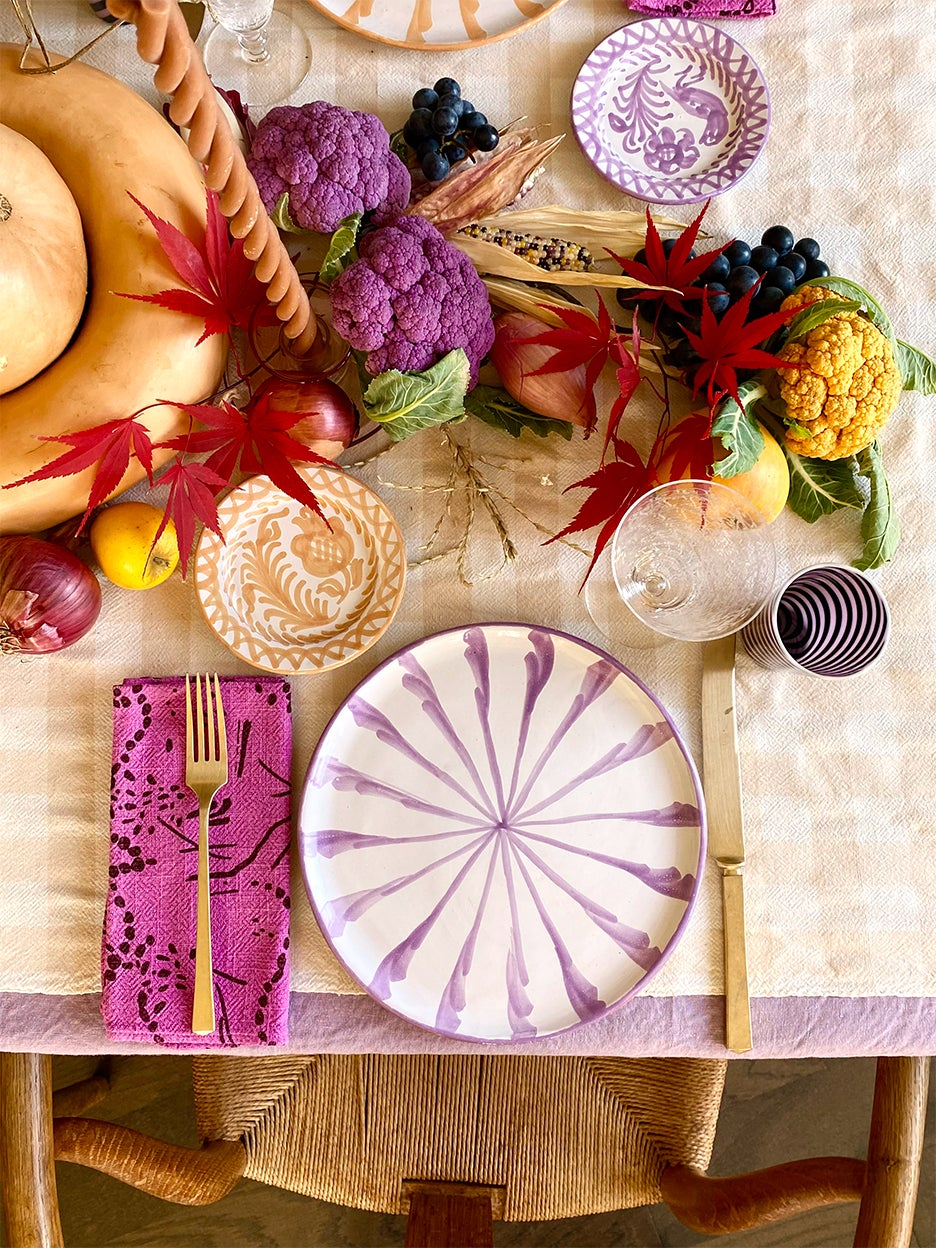 How Team Domino Is Setting Their Thanksgiving Tables
