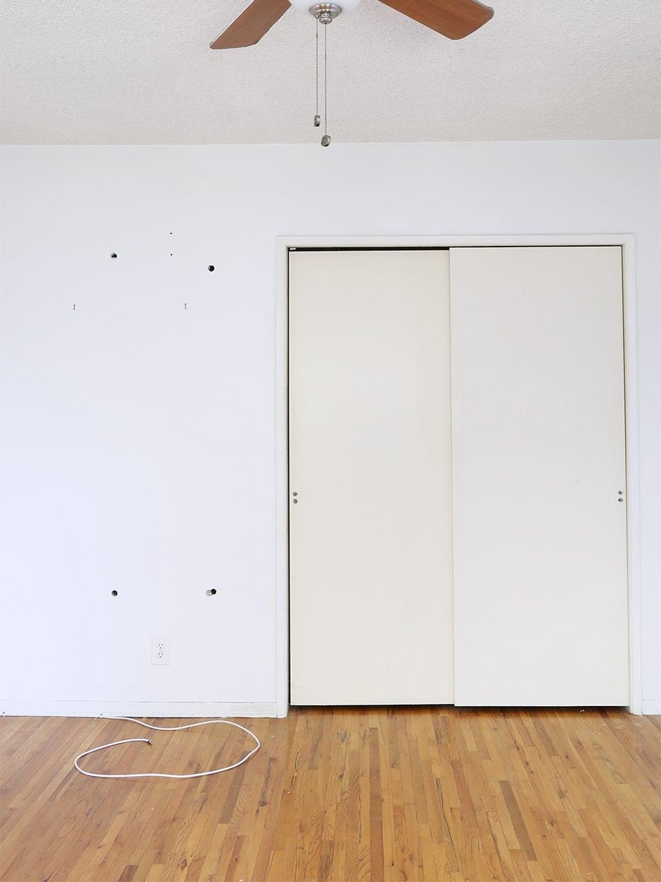 blank closet doors