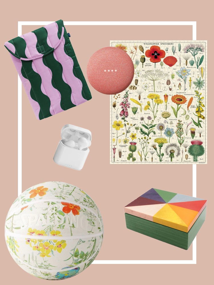 A Floral Basketball, Puffy Laptop Case, and More Quirky Gift Ideas From an Expert Crafter
