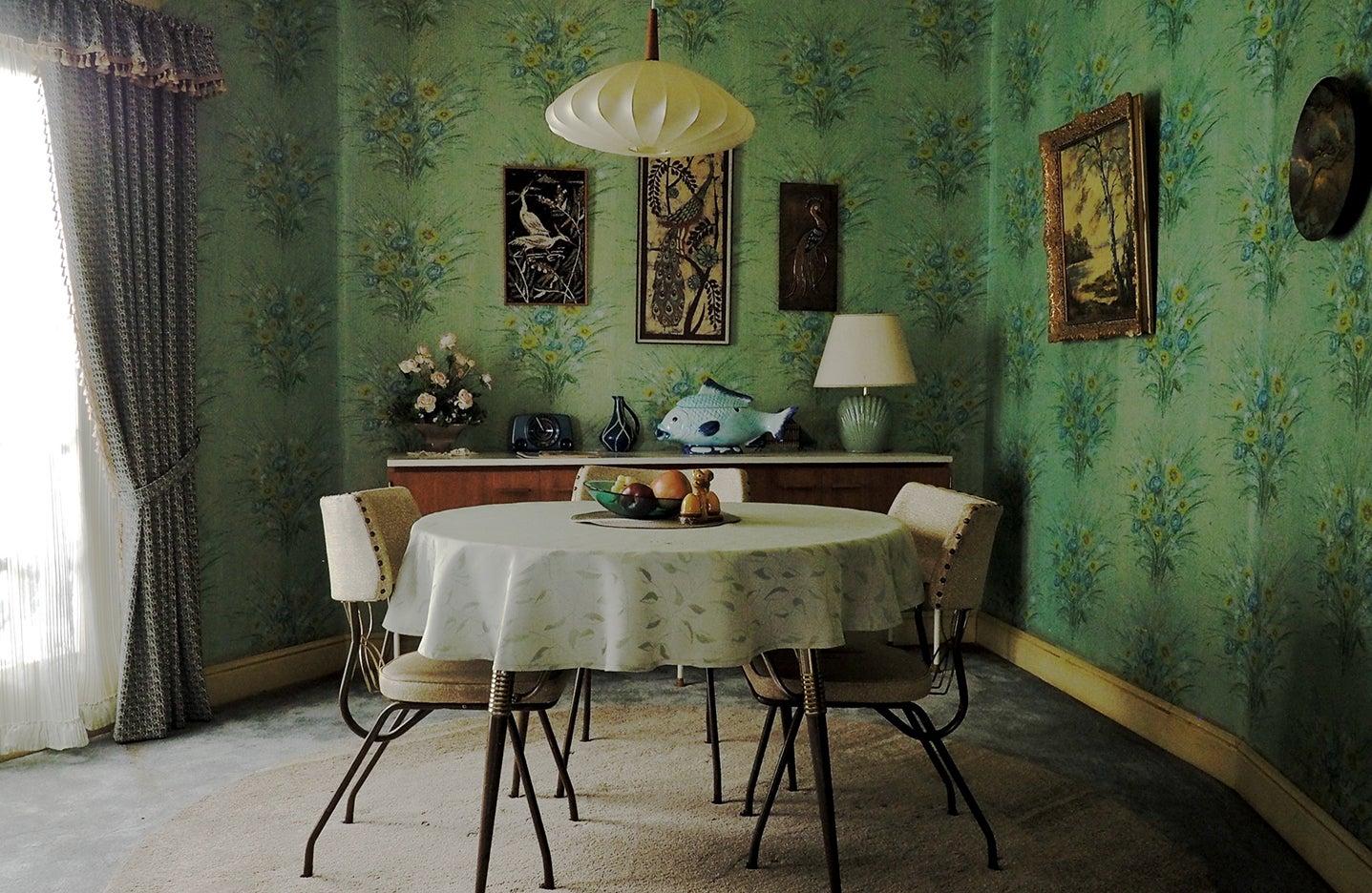 1960s dining room