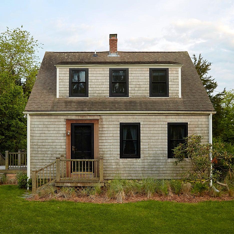 shingled cottage after