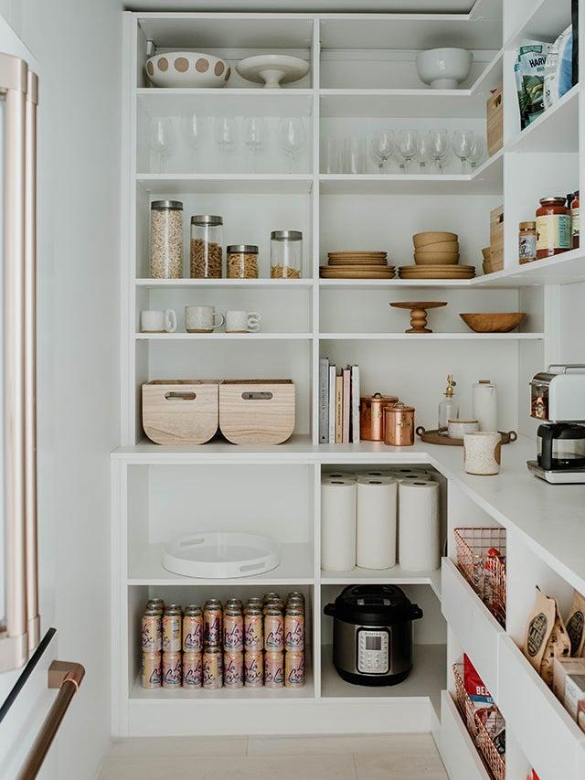 zen white pantry