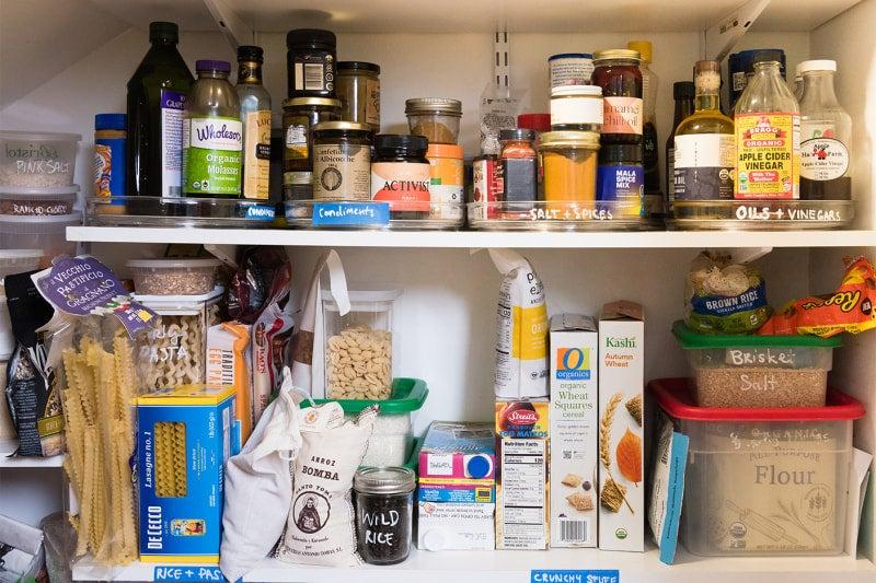 cramped pantry