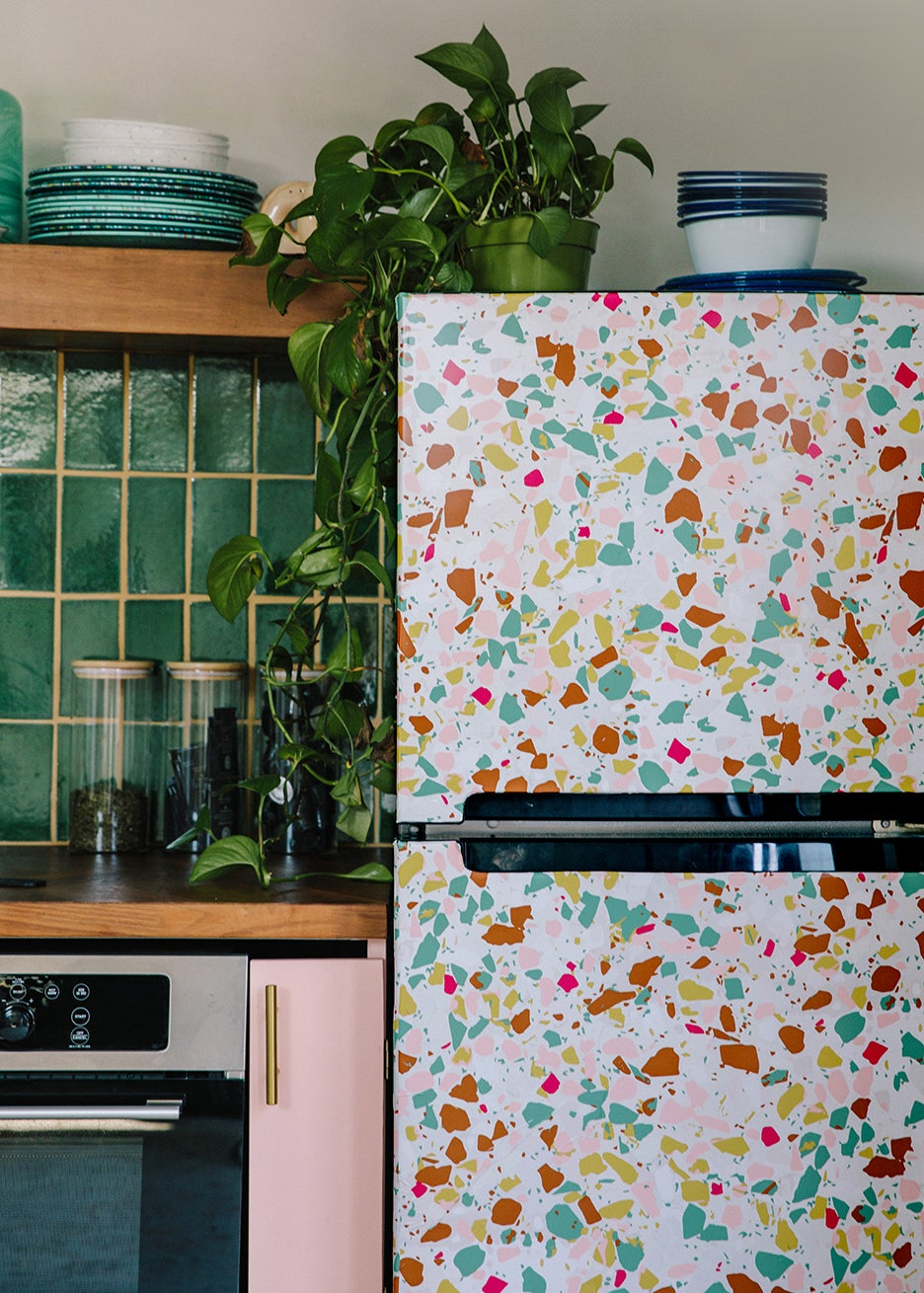 terrazzo fridge