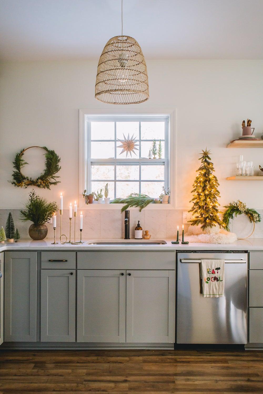 kitchen chirstmas decor