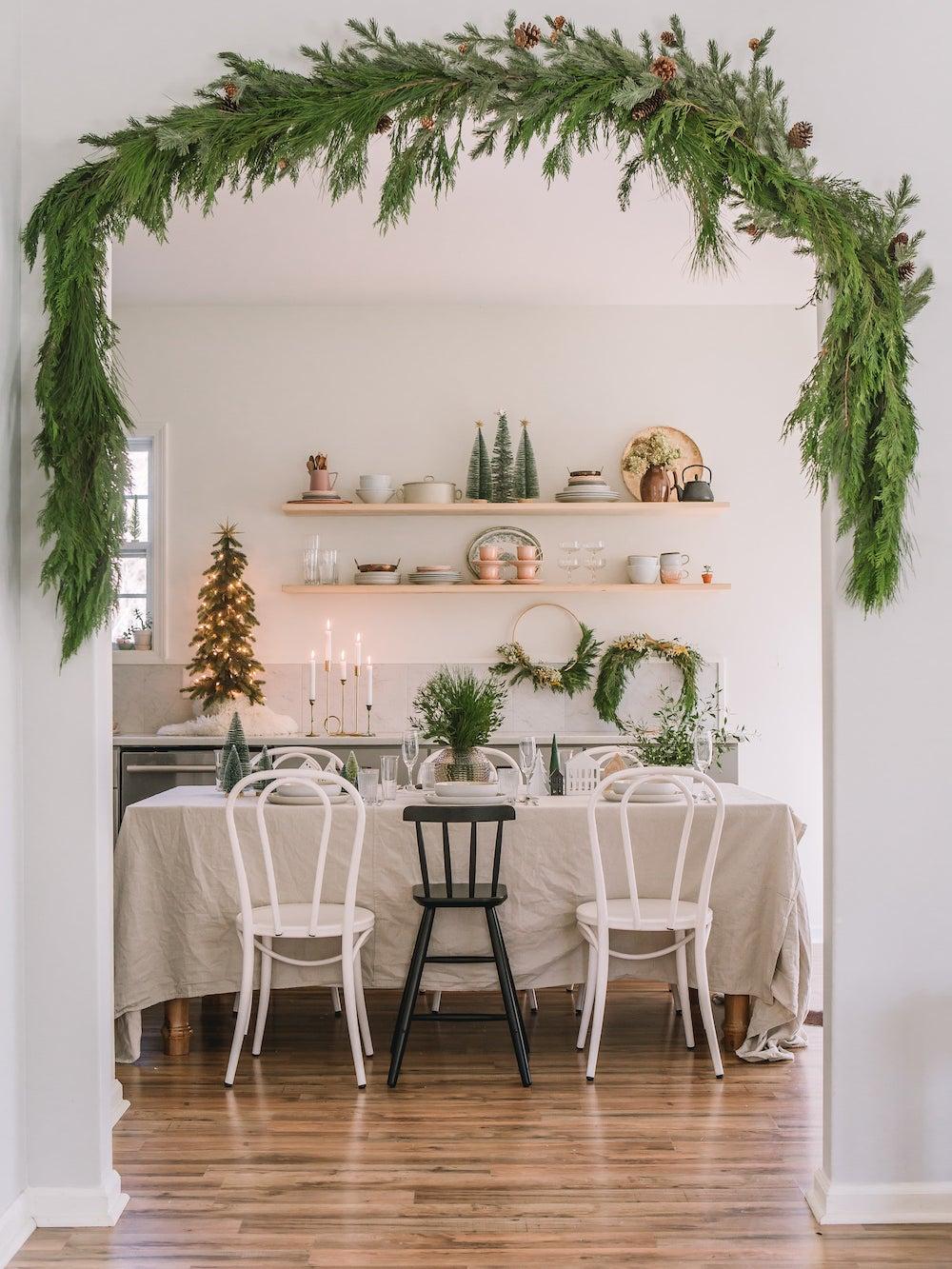 wreath arund threshold