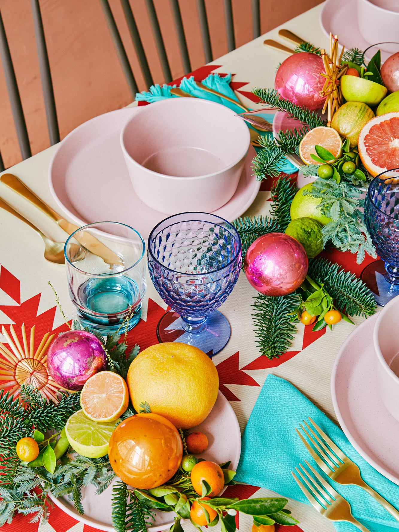 Our Executive Creative Director's Holiday Table Skips the Red and Green Clichés