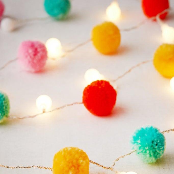 pom pom lights