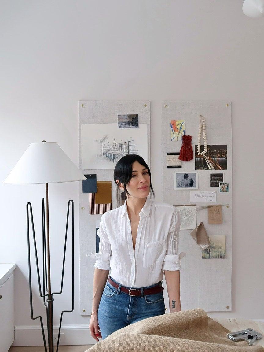 Athena Calderone at home