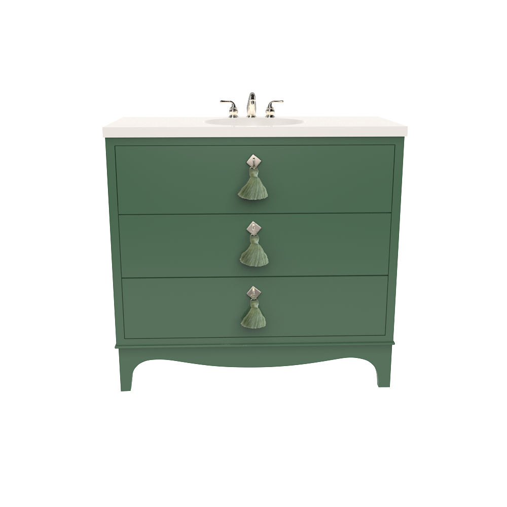 easton+vanity+Peale+Green+nickel+rainwashed+tassel