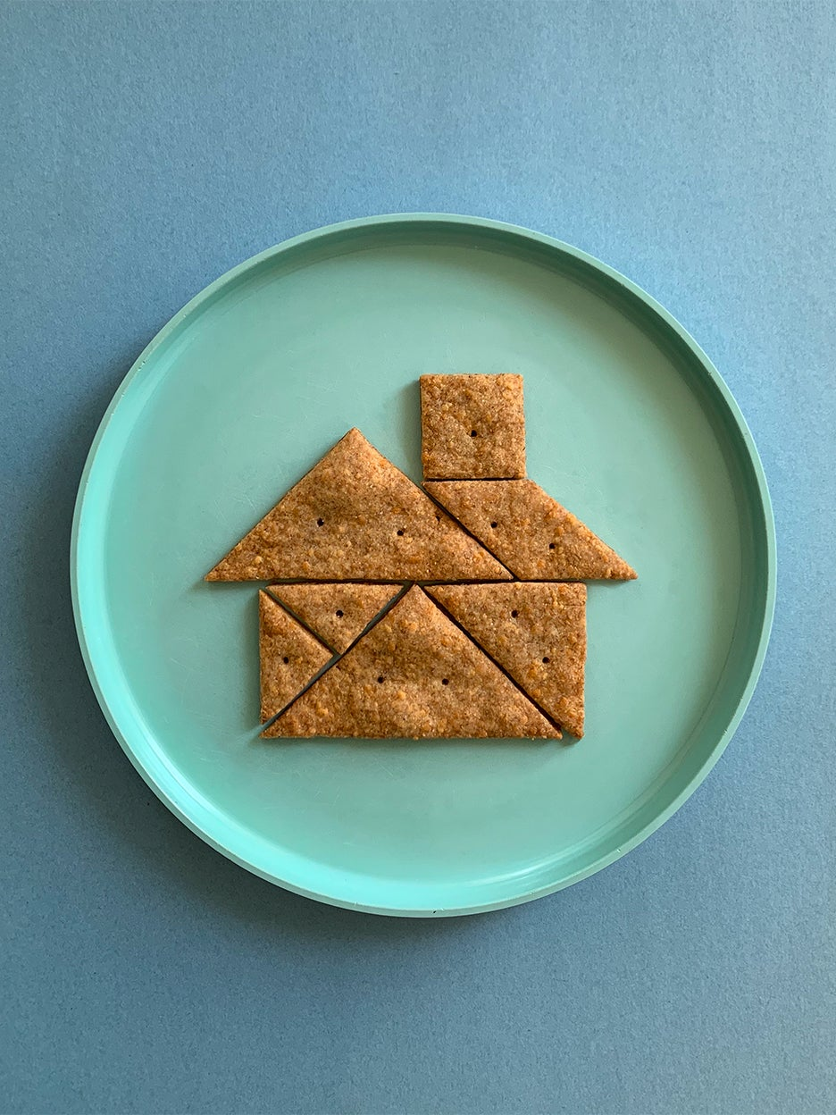These Healthy Crackers Do Double Duty as a Puzzle