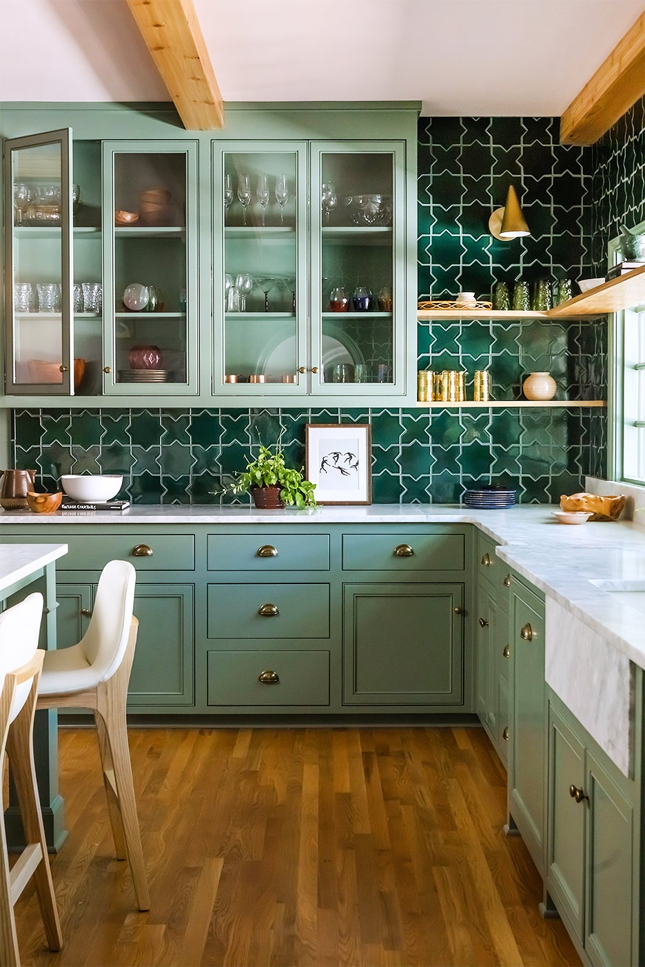 green kitchedn