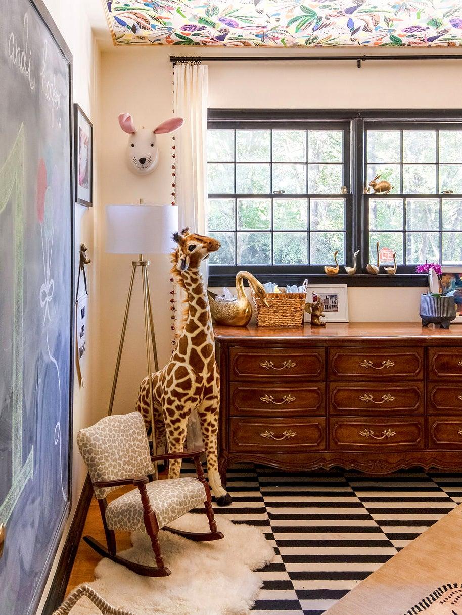 Animal-themed nursery