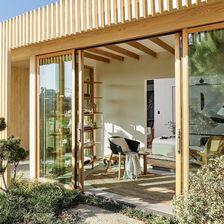 open porch door