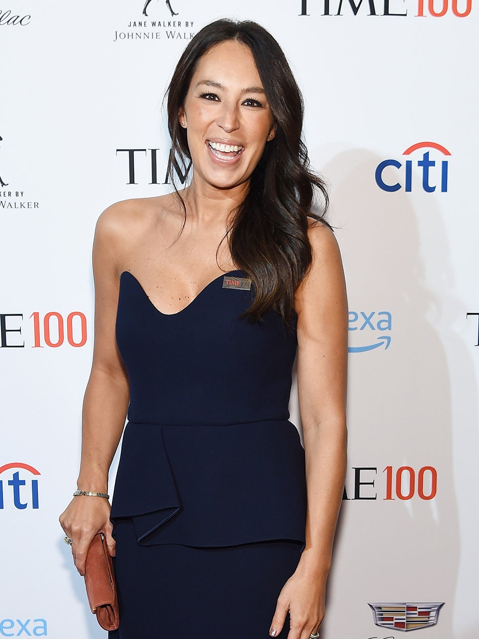 joanna gaines on red carpet