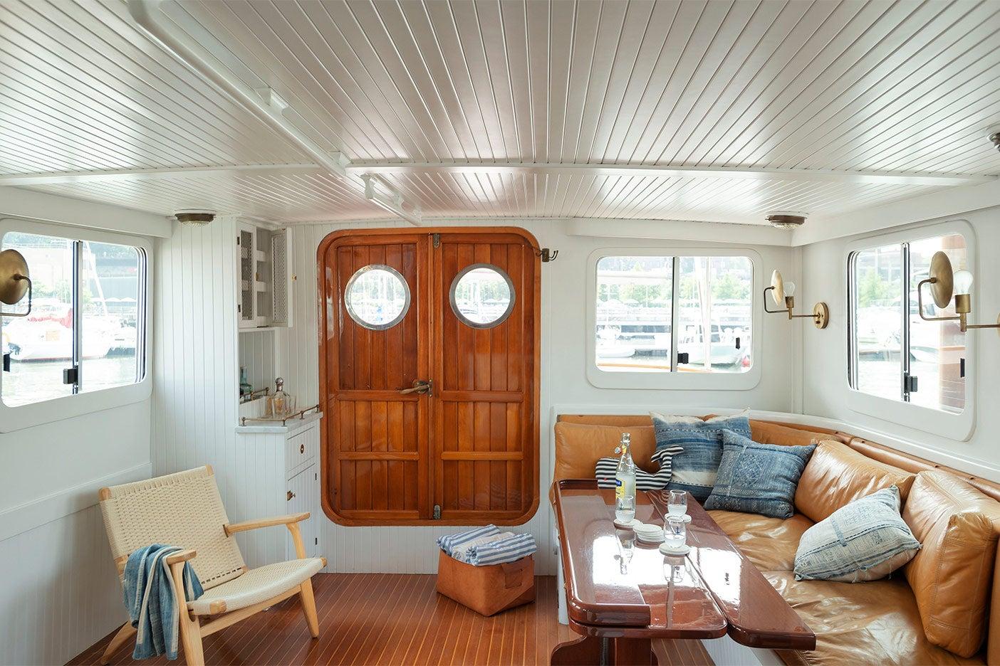 old tugboat renovation
