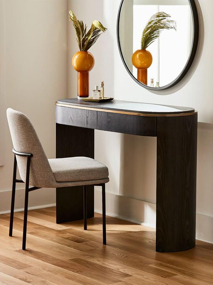 a console table desk