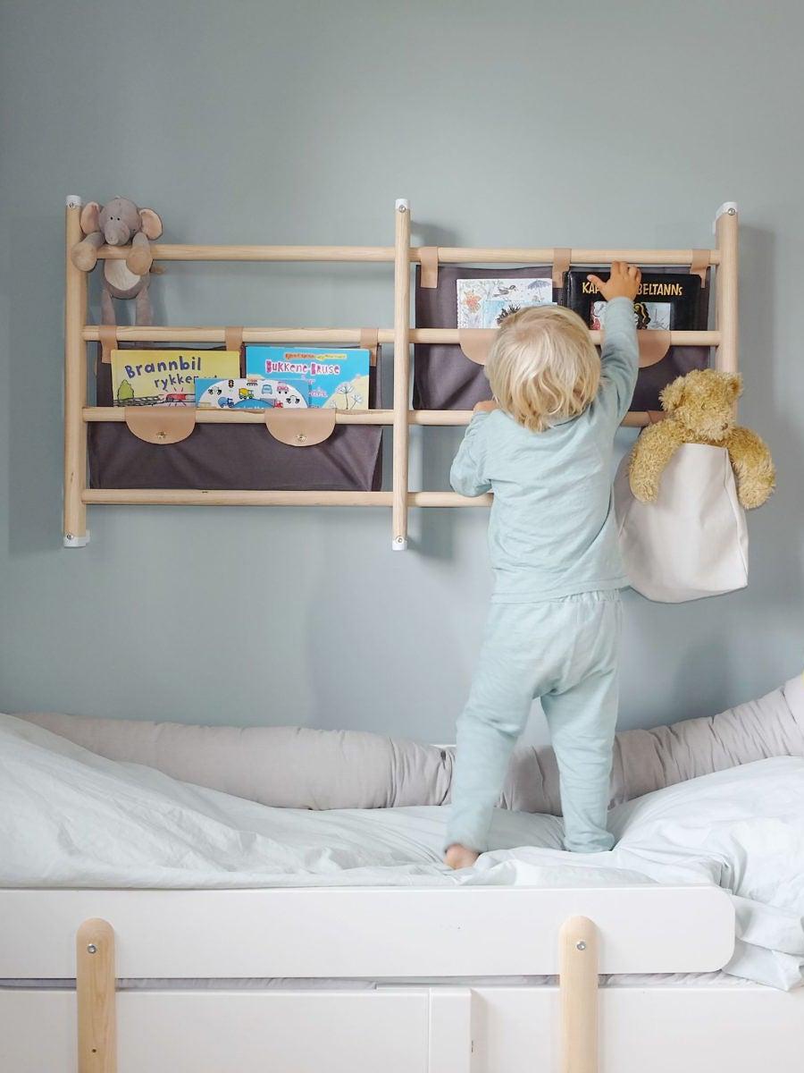 Baby blue walls