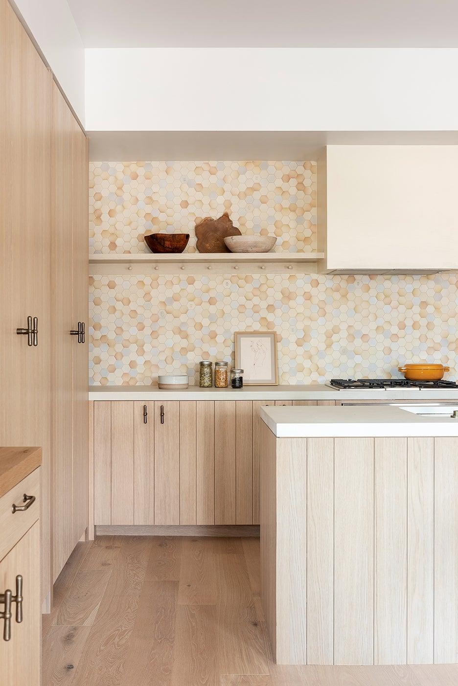 White oak kitchen