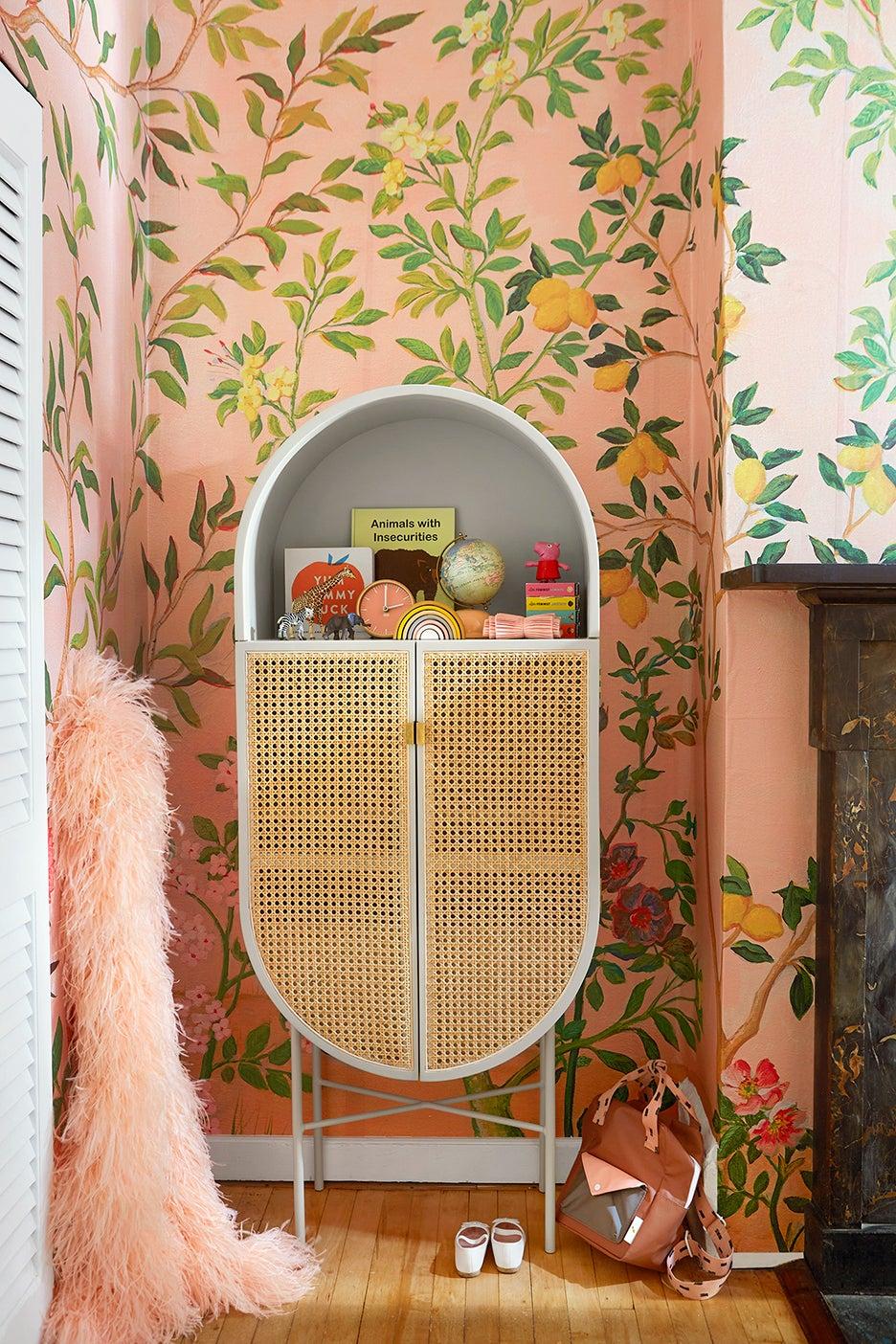 a kids bedroom cabinet