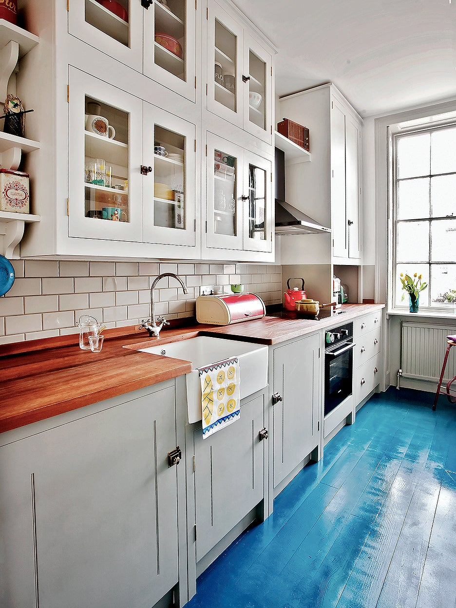 a one wall kitchen