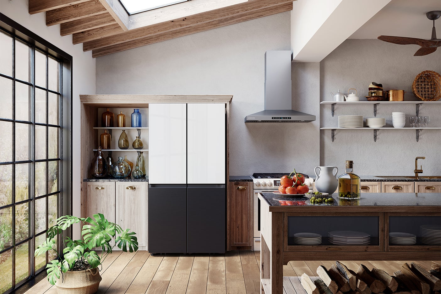 This New Fridge Operates (and Even Looks Like) Kitchen Cabinets