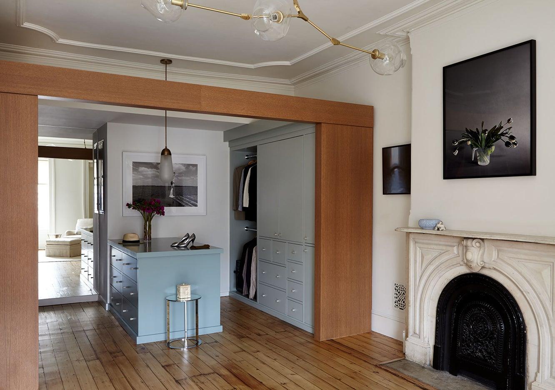 Brooklyn brownstone dressing room renovation